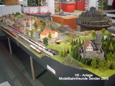 17 Inhofer Ausstellung 20152016 H0 Anlage Modellbahnfreunde Senden