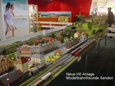 H0 Anlage Neu Premiere Auf Der 16modellbahnausstellung Bei Möbel